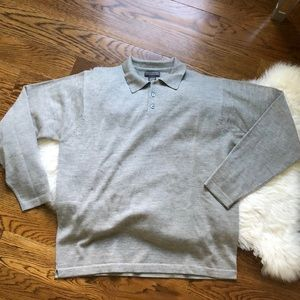 Grey banana republic sweater